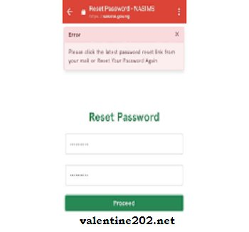 How to Change your Npower Batch C Login Password on the Nasims Portal