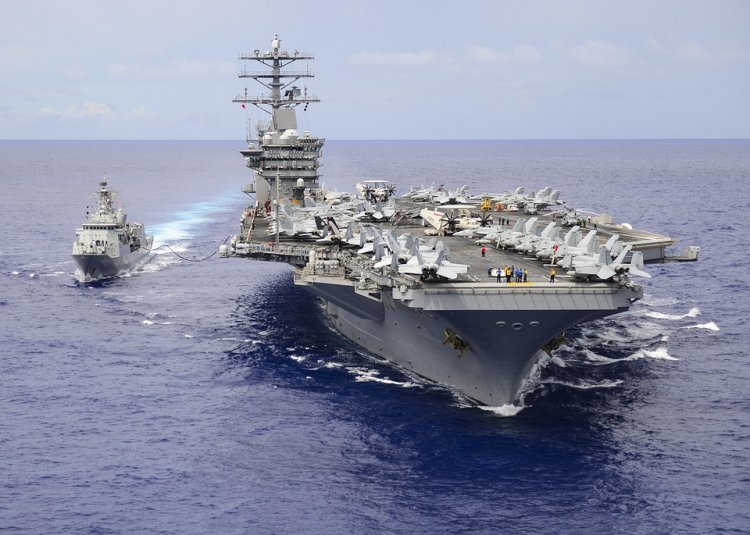 See the World Most Powerful Aircraft Carrier - The Gerald R. Ford class