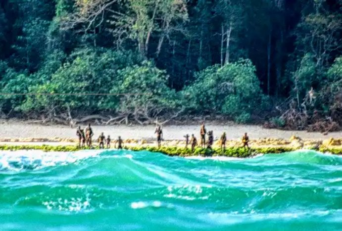 North Sentinel Island  - Where no Visitors is allowed by the Local People