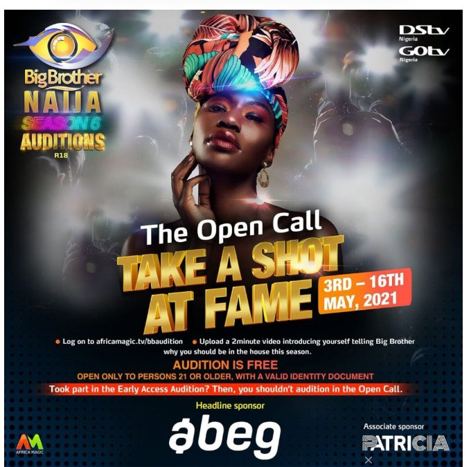 How to Apply for Big Brother Naija 2021 (Main Audition)