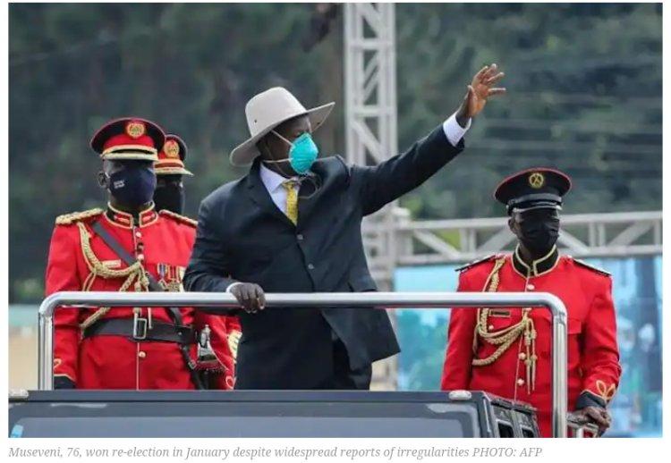 Ugandan Elections - Museveni sworn in for sixth term as Ugandan president