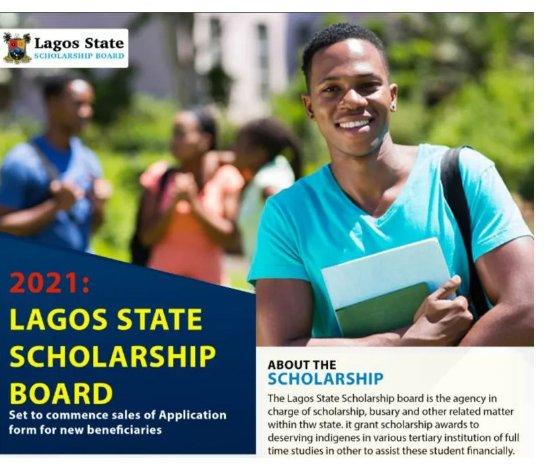 How to Apply for Lagos State Scholarship and Bursary Award 2021/2022 - www.lagosscholarship.org