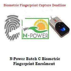 N-Power Batch C: Is 6th Of June 2021 The Deadline For Stream1 Biometrics?