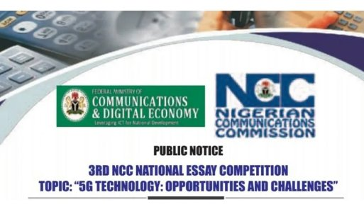 See how to Submit Entries for Nigerian Communications Commission (NCC) Essay Competition 2021