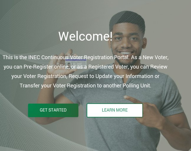 INEC Continuous Voters Registration -How to Check your PVC Status