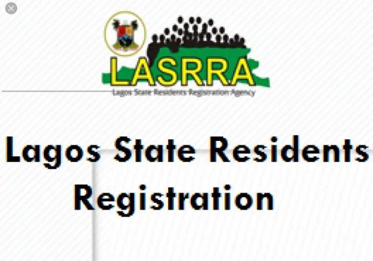 Lagos State Residents Registration Portal - Register here