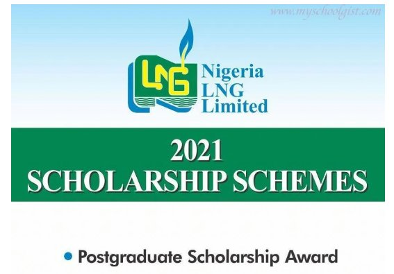 See how to apply for the Nigeria Liquefied Natural Gas (NLNG) Overseas Postgraduate Scholarship Award 2021