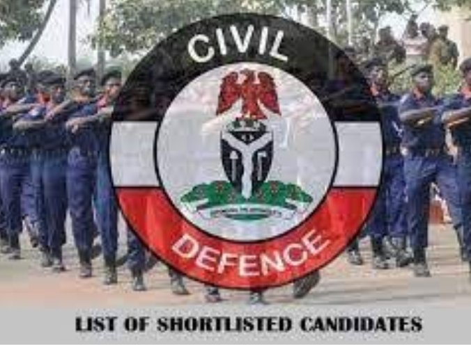 NSCDC Shortlist 6500 for Final Screening for 2021 Recruitment